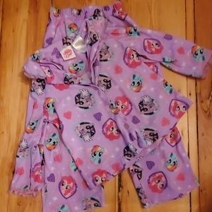My Little Pony kids long sleeve PJ set